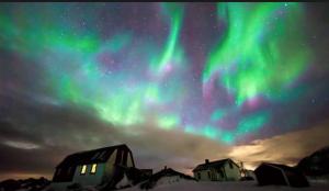 pic of aurora borealis -- to reconnect w/spirit
