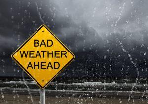 bad weather abrupt change