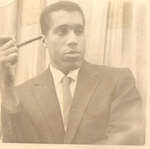 photo of Dad w/pipe circa 1950
