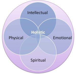 pic of four-part holistic lifestyle approach