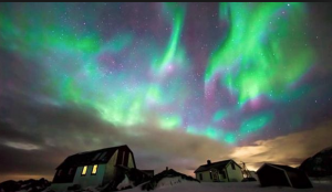 pic of aurora borealis -- to reconnect w/spirit