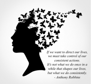 anthony robbins quote re bad habits