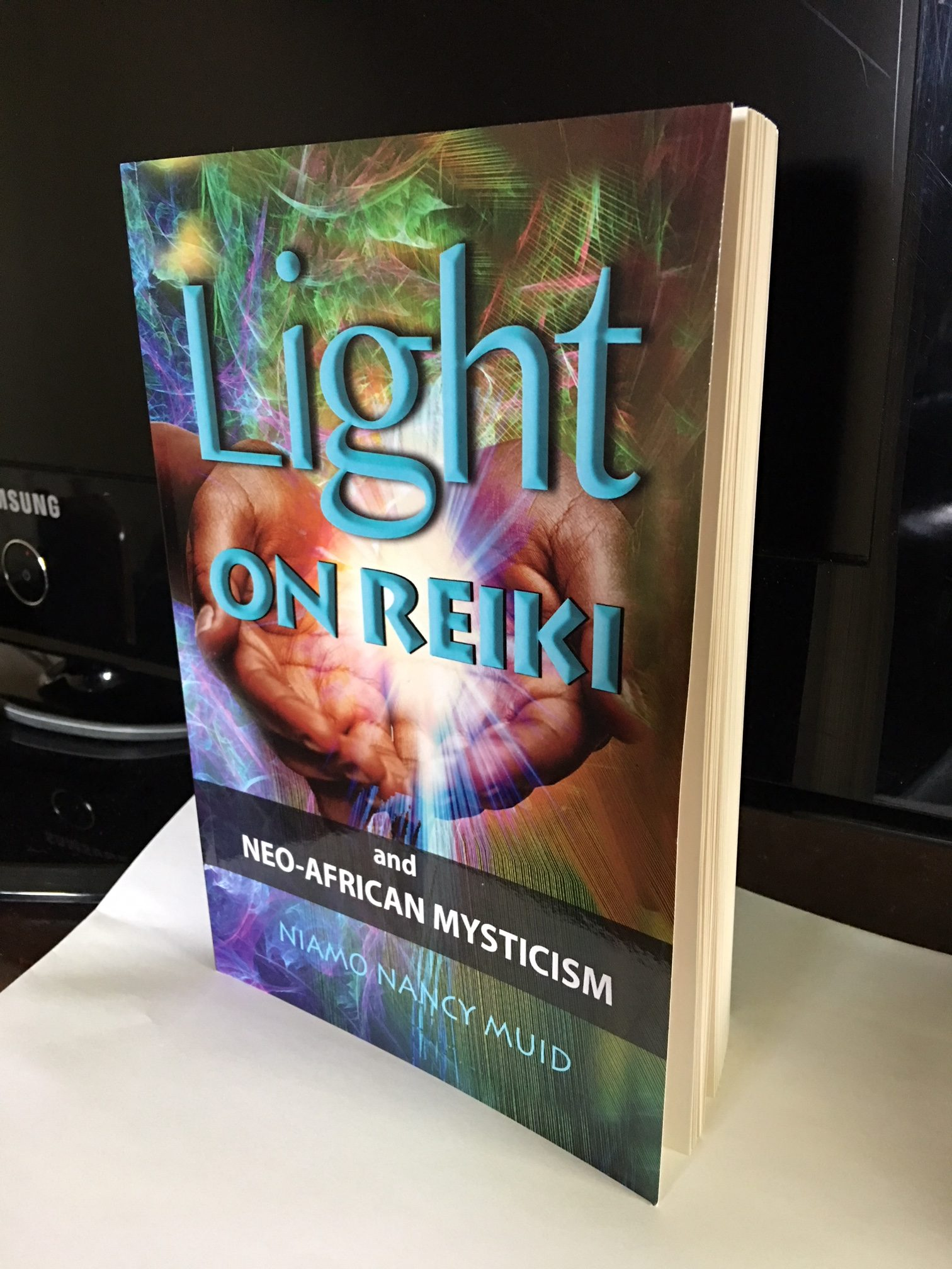 pic of my book on reiki healing