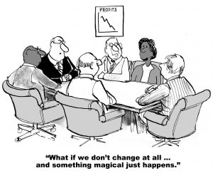 pic of board mtg re abrupt change