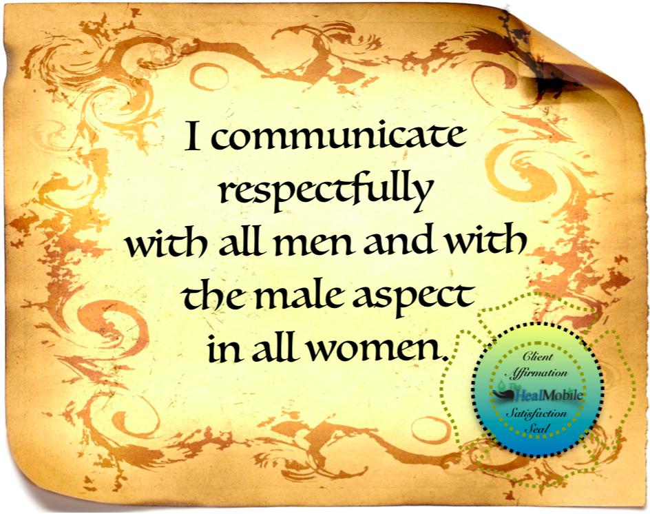 poster about doing good men women