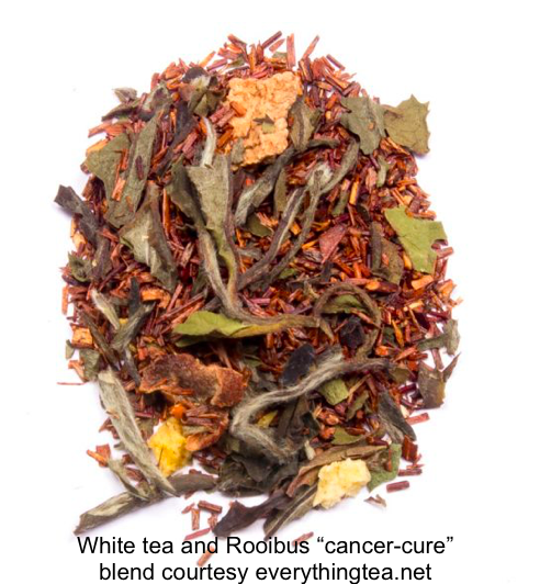 "pick of ""cancer-cure"" white tea & rooibos combo"