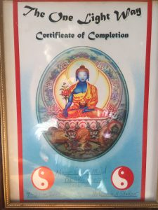 reiki attunement cert