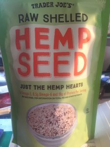 pix of Trader's Joe's hemp hearts