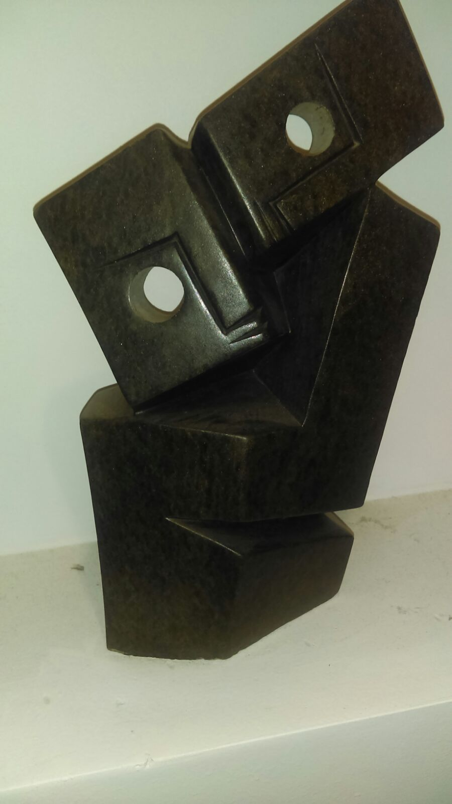 pic of female wooden sculpture reiki