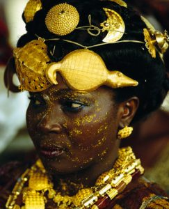 pic of ashanti royalty from Natl Geographic
