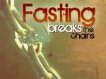 fasting breaks chains sign