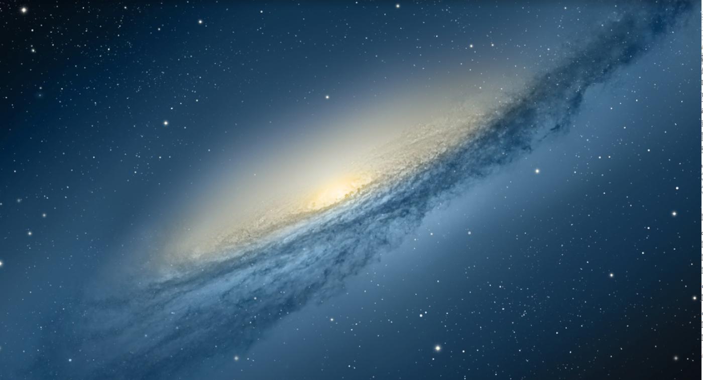 photo of the heavens, maybe milky way