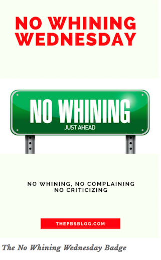 pic of no whining
