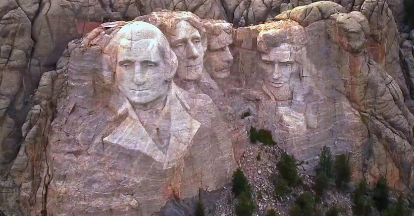 pic of presidents on Mt. Rushmore
