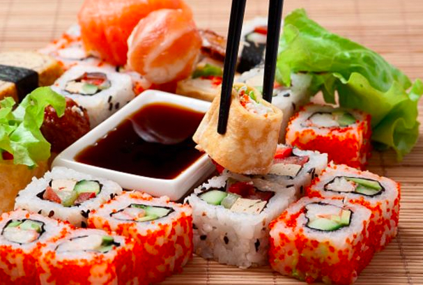 sushi pic of food choices to avoid