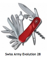 pic of Swiss Army knife